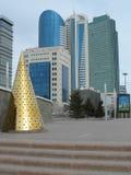 Uliczny widok w Astana Obrazy Royalty Free