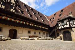 Uliczny widok w Bamberg, Niemcy fotografia stock