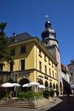 Uliczny widok w Coburg, Niemcy Fotografia Royalty Free