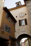 Uliczny widok w mieście Annecy Obrazy Royalty Free