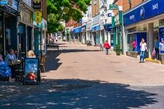 Uliczny widok w Ramsgate fotografia royalty free