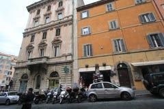 Uliczny widok w Rzym, Włochy Zdjęcie Stock