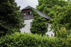 Uliczny widok w Salzburgh Obraz Royalty Free
