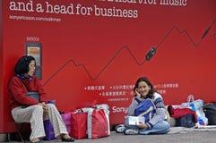 Uliczny życie Hongkong Fotografia Stock