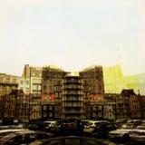 Uliczny życie i miastowy paysage Fotografia Stock