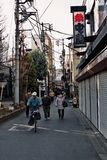 Uliczny ?ycie w Tokio fotografia stock