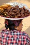 Uliczny życie w Yangon, Myanmar Obraz Royalty Free