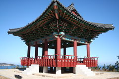Uljin Resting Pavillion. A buddhist resting pavillion in Uljin, South Korea Stock Photos