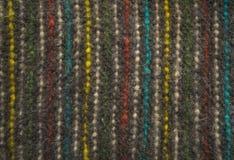 Ull för textur för ulltygmatta mattar traditionell textur arkivfoto