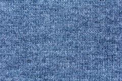 Ull texturerar i grå färgblåttsignal Arkivbilder