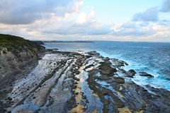Ulladulla, Australia. Ulladulla coast landscape in Australia. New South Wales nature Stock Image