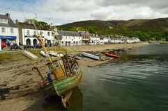 Ullapool苏格兰,英国,欧洲 免版税图库摄影