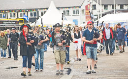 Ullapool Festival of Tall Ships. Stock Photos