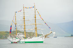 Ullapool Festival of Tall Ships. stock image