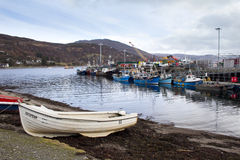 Ullapool harbour Stock Photography