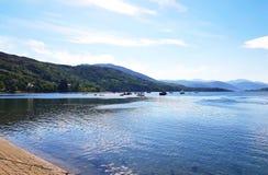 Ullapool Harbour, Scotland stock photos