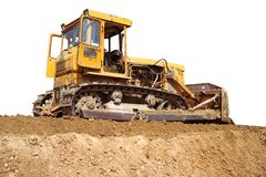 Ulldozer Royalty Free Stock Photos