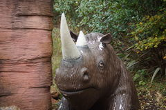 Ullig noshörning - Coelodonta antiquitatis Arkivbild