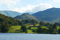 Ullswater. Looking towards Loadpot hill Royalty Free Stock Photos