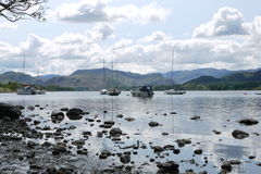 Ullswater Stockfoto
