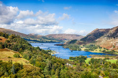 Ullswater. From Above Patterdale the Lake District Stock Photos