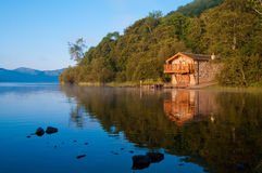 Ullswater Boathouse Royalty Free Stock Photos