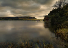 Ullswater boathouse Royalty Free Stock Photo