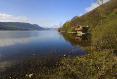 Ullswater Boathouse Royalty Free Stock Image
