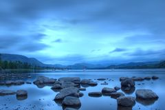 Ullswater, districto del lago Imagenes de archivo