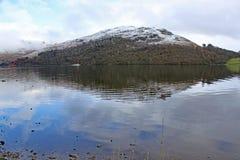 Ullswater en el distrito del lago fotografía de archivo libre de regalías
