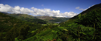 The Ullswater fells from Place Fell Stock Photos