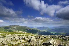 Ullswater Fells Royalty Free Stock Photography
