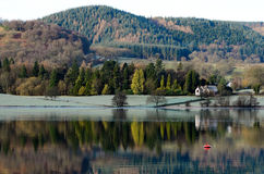Ullswater Frost Royalty Free Stock Photos