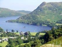 Ullswater and Glenridding, Lake District Stock Image
