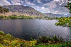 Ullswater Jeziorny okręg, Cumbria fotografia royalty free