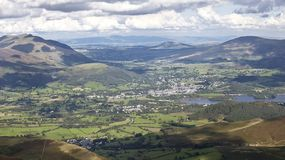 Ullswater and Keswick area Lake District England Royalty Free Stock Photography