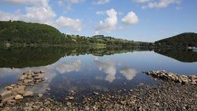 Ullswater Lake District Cumbria England UK stock footage
