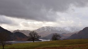 Ullswater Lake District, Northern England Royalty Free Stock Photo