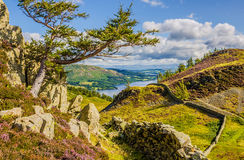 Ullswater Lake England Landscape Royalty Free Stock Photography