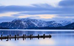 Ullswater półmrok zdjęcie royalty free