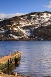 Ullswater Pier Royalty Free Stock Image