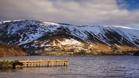 Ullswater Pier Royalty Free Stock Photography