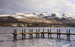 Ullswater Pier Stock Photo