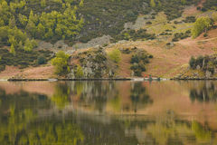 Ullswater reflections Royalty Free Stock Photo