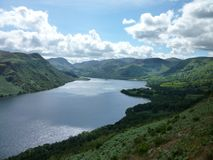Ullswater South Royalty Free Stock Photos