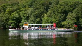 Ullswater Steamer Royalty Free Stock Image