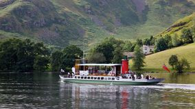 Ullswater Steamer Stock Images