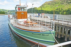 Ullswater Steamers: tourist attraction. Stock Photo
