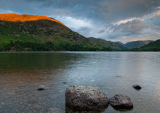 Ullswater Sunset Stock Photos