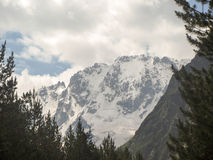Ullu Tau. Kabardino-Balkaria. The North Caucasus. The top of the mountain Ullu Tau. Summer Stock Images